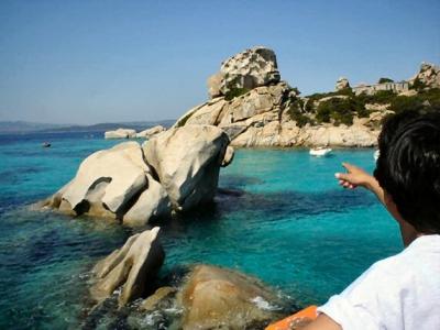 Holiday in Sardinia:  Spargi island