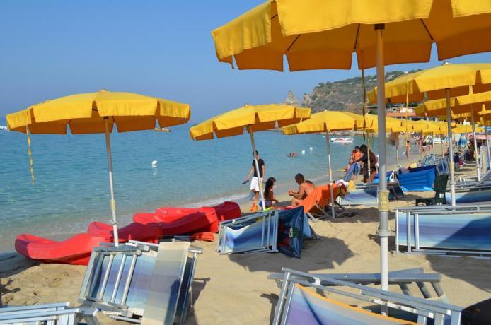 Appartamenti sulla spiaggia di Tropea