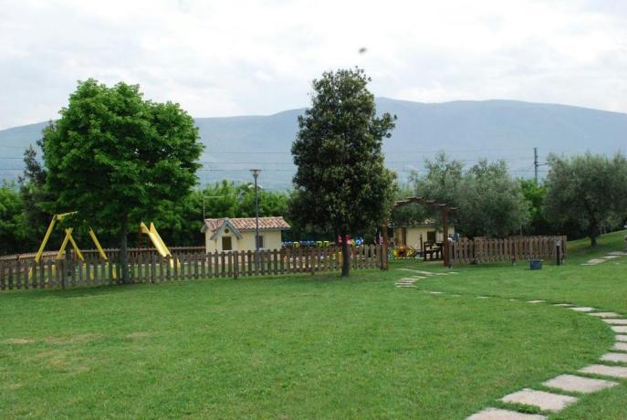Ampio parco per bambini