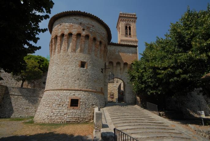 Corciano Borgo Medievale appartamenti a 5 minuti