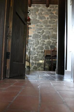 Camera in muratura agriturismo Adrano vicino Parco Etna