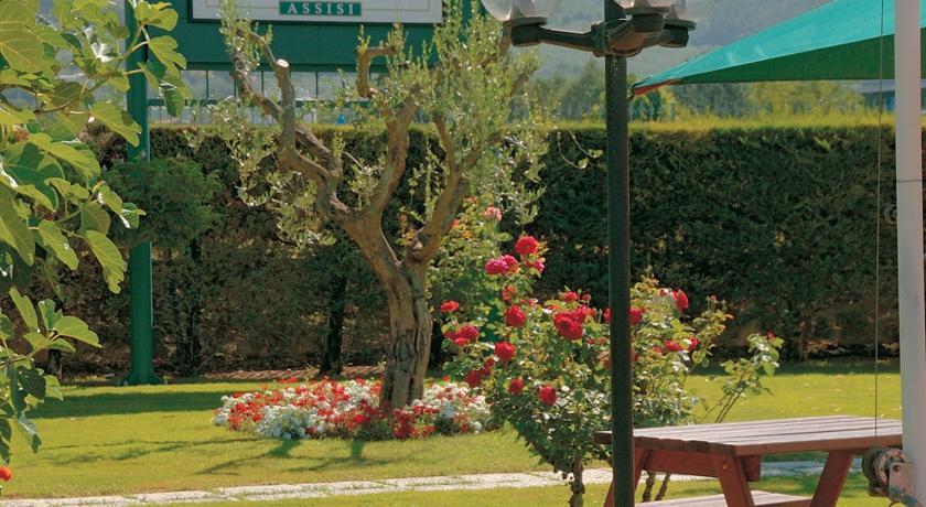 agriturismo con ampi spazi ad Assisi