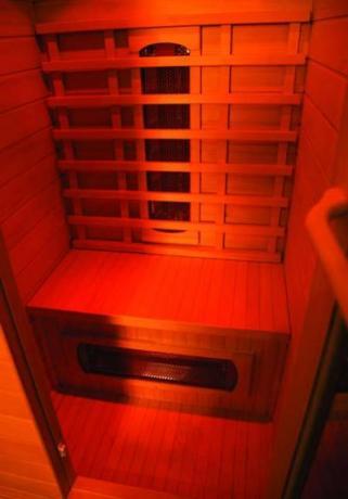 Sauna con Cromoterapia, per hotel, agriturismo, struttura turistica