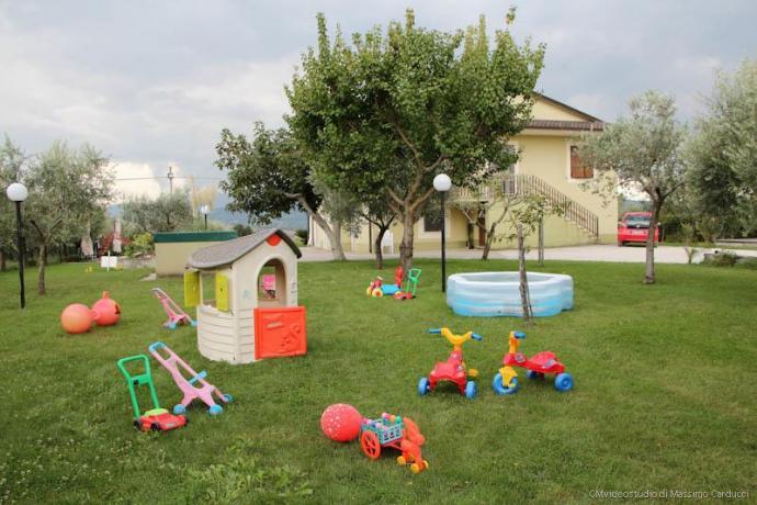 Giochi Bambini BB-Ulivi: a disposizione della Depandance