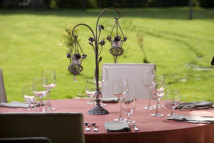 Pranzo romantico in Resort a Spoleto