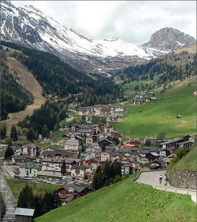 Dolomites superski area, stay near the slopes