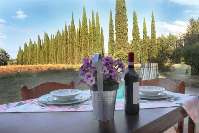 Desinare in giardino: rilassarsi nella Villa di Firenze