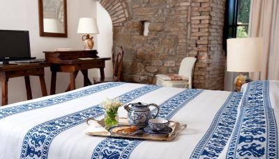 Camere arredate con gusto e particolari caratteristici