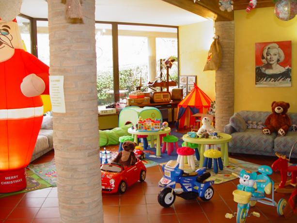 Area Giochi Bambini in Residence Monte Cimone