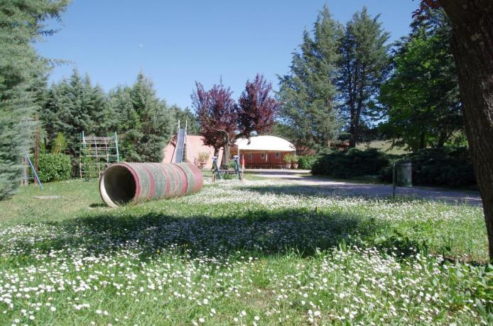 Agriturismo Perugia ampio parco per bambini
