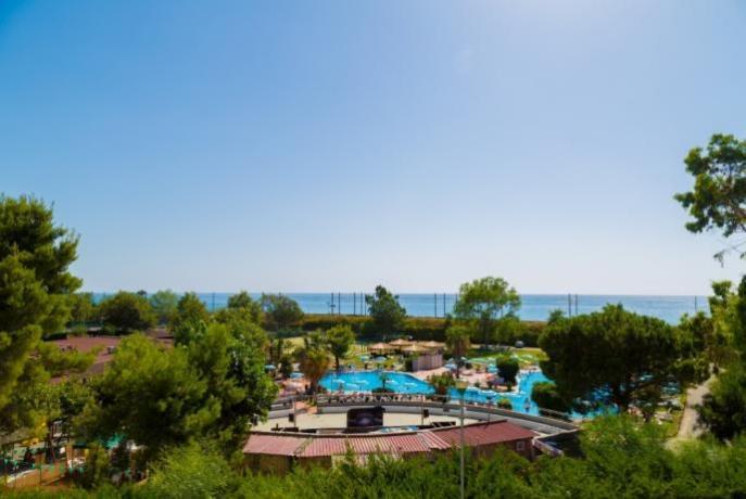 Villaggio direttamente sulla Spiaggia di Paola Calabria