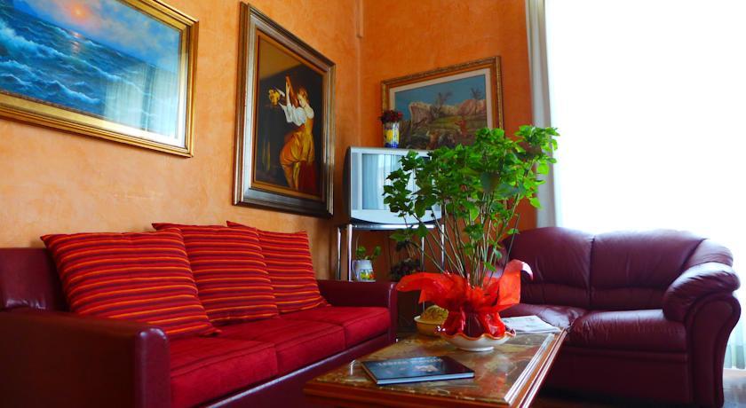 Area comune dell'Hotel nel centro di Palermo