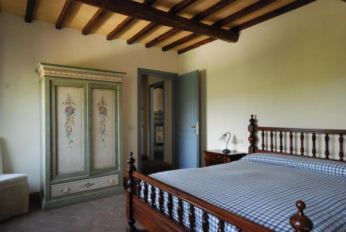 Camera matrimoniale in Agriturismo a Narni