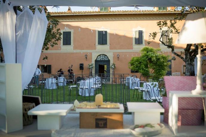 Villa in esclusiva per matrimonio e lauree Perugia-Piscille