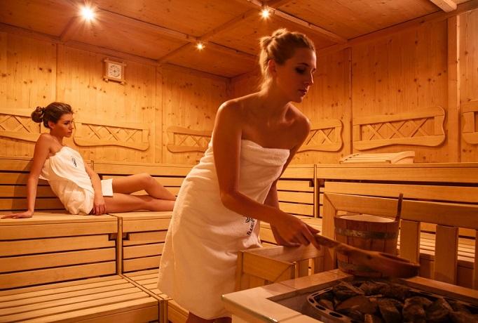 Sauna dele Terme di Pejo