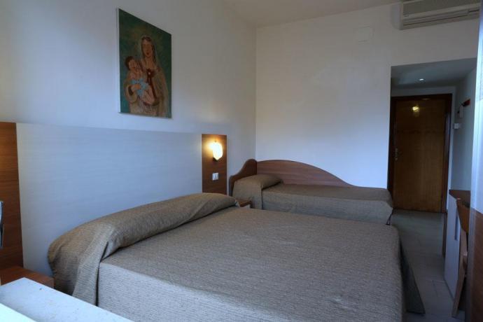 Matrimoniale + Lettino Hotel in Abruzzo
