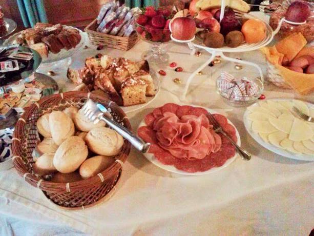 Buffet di affettati e formaggi