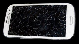 cambio schermo rotto telefoni samsung