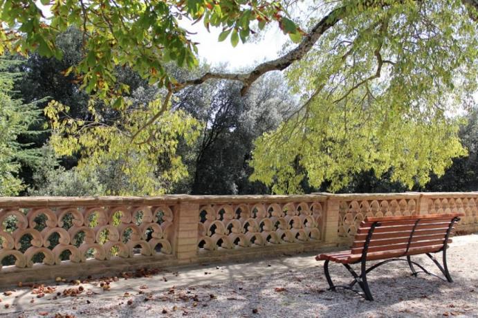 Albergo con parco vista Umbria
