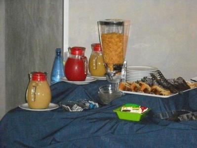 Il Buffet della Prima Colazione in Eco-Hotel3stelle