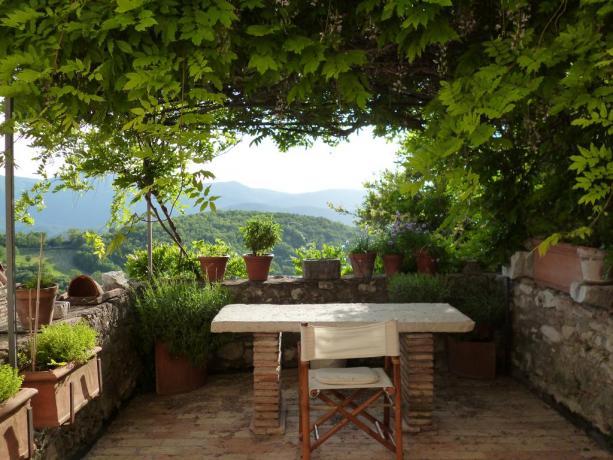 Splendido Panorama sulla Valle Santa albergo a Labro