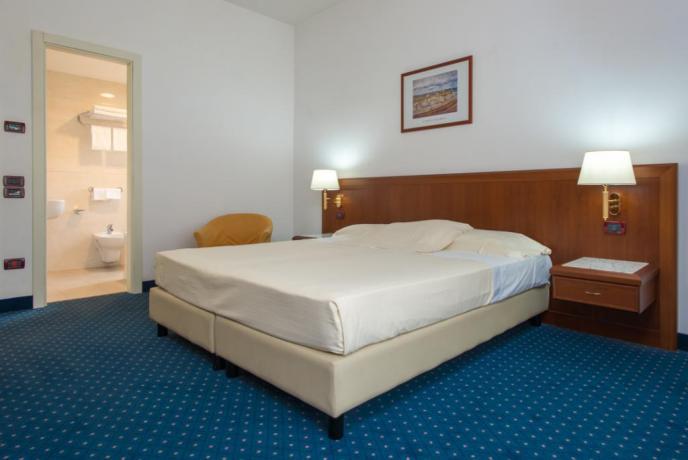 Hotel 4stelle a Rende, matrimoniale servizio in camera