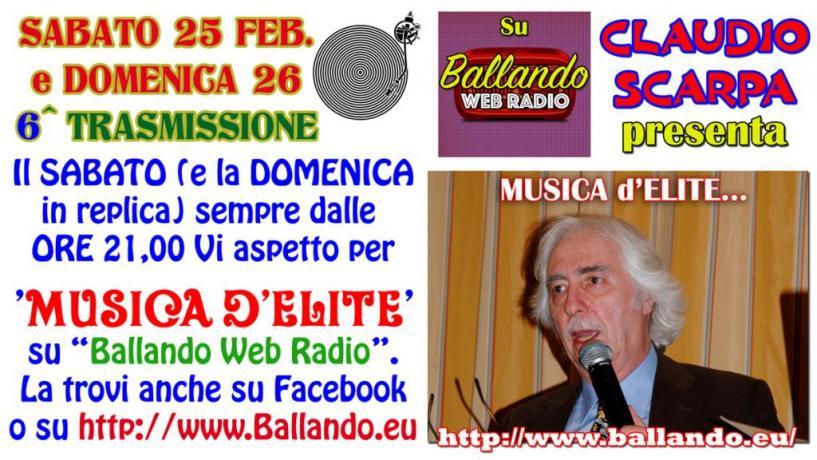 Claudio Scarpa ospite a RTR 99