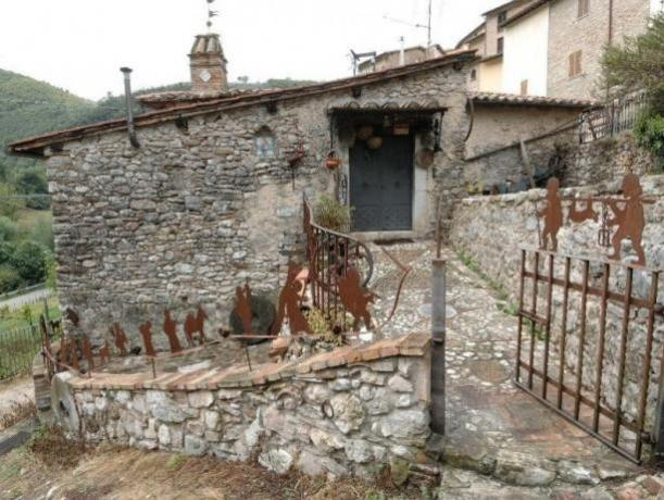 Esterno Museo Civiltà Contadina a Ferentillo