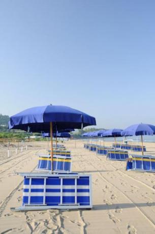 Villaggio con Spiaggia privata vicino parco del Cilento