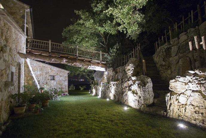 Scorcio Notturno Esterno Resort con Spa