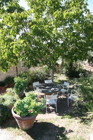 Giardino area relax relais Calenzano vicino Sesto Fiorentino