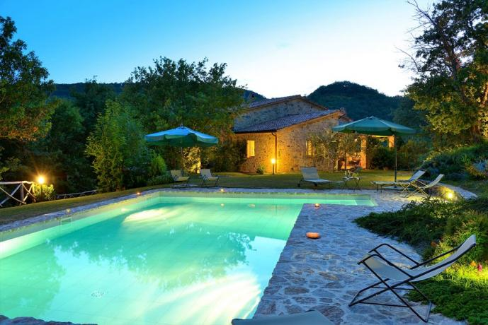 Relax in Umbria immerso nel verde