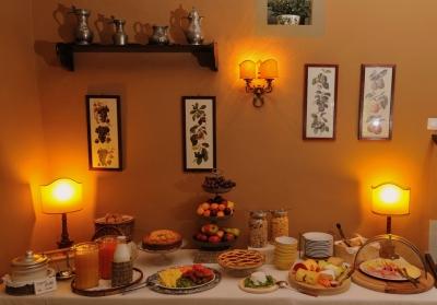 ristorante interno sala colazioni