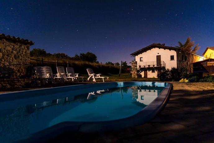 Appartamenti vacanza e piscina Sibillini Umbria
