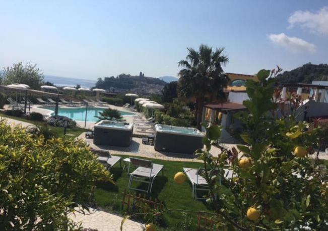 Hotel Isole Lipari con idromassaggio e piscina