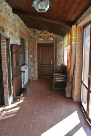 Corridoio B&B casale San Terenziano in Umbria