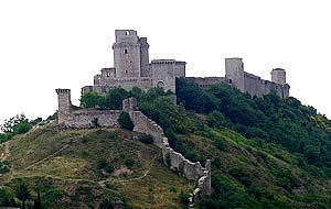 The Rocca in Assisi