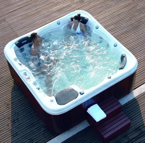 Vasca idromassaggio in Hotel a Campo Felice