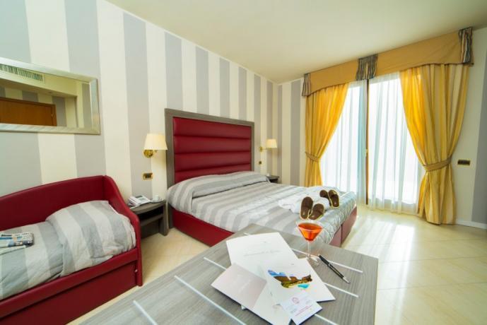 Camera Tripla hotel Sportivo Cascia, Ideale-famiglia