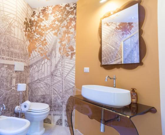 Camera con Bagno privato di Design