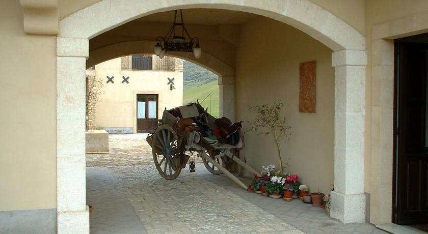 Corte interna Agriturismo in Sicilia