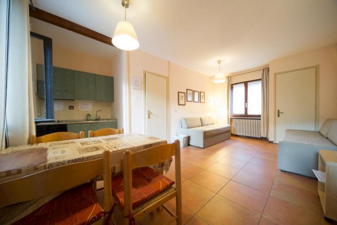 Appartamento-vacanze monolocali 3persone cucina abitabile Bardonecchia