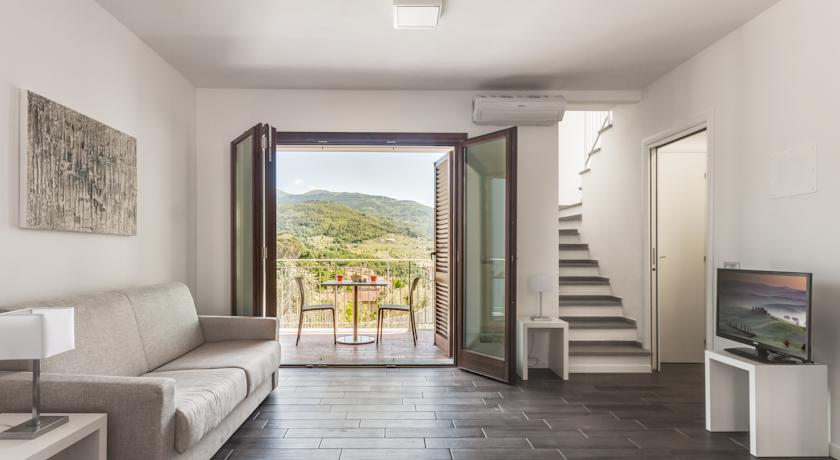 Lussuose Suite arredate in stile minimal moderno