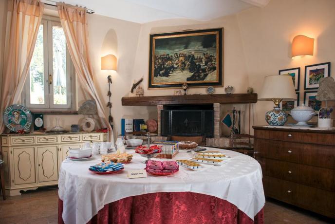 Vicino Assisi a Rivotorto Colazione a Buffet