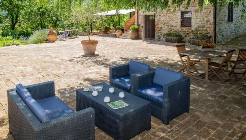 Villa a perugia con area relax esterna