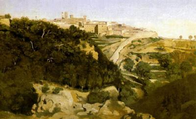 Volterra Art City,  By Jean Baptiste Camille