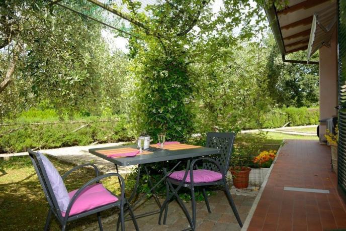 Appartamenti con giardino a Magione