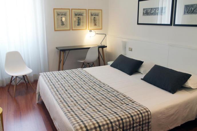 Stanze con bagno privato, Hotel Milano centro