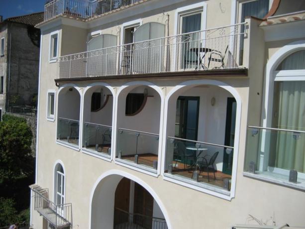 Camere in Hotel a Ravello con balcone