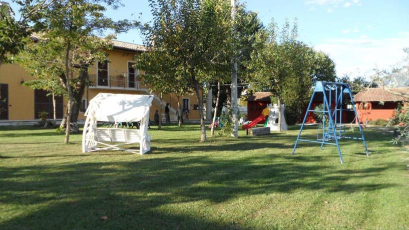 Agriturismo a Protte con giochi bambini
